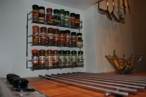 new spice rack